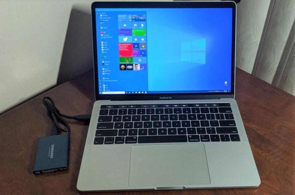 Die w10 treiber muss man aber vorher über bootcamp holen. Here S How I Installed Windows 10 On My Macbook Without Bootcamp Onmsft Com