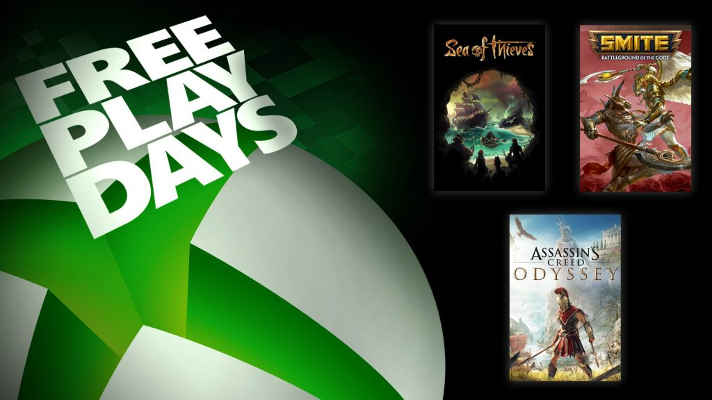 Assassin's Creed Odyssey and Other Games Free to Play