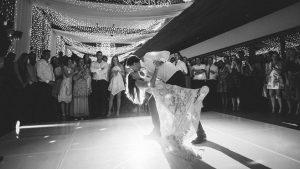 First dance at Cavalli Estate