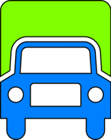 icon for a delivery truck
