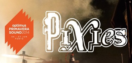 Pixies atuam no Optimus Primavera Sound 2014