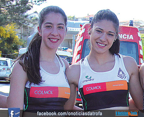 Ginásio e Bougadense  no pódio do Cross Roda dos Ventos