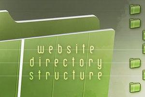 struktur direktori website