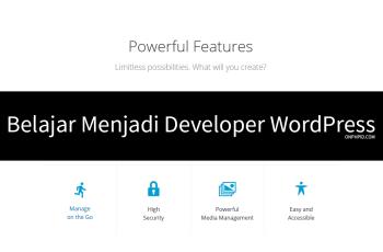 belajar wordpress,belajar wordpress pemula, belajar menggunakan wordpress, belajar developer wordpress