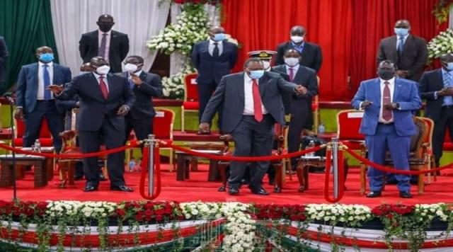 DP Ruto, Raila and Uhuru speeches at the Bomas BBI launch