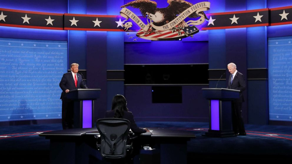 President Donald Trump and Democratic nominee for president Joe Biden faced off in the second and final presidential debate of 2020 Thursday night in Nashville, Tennessee.