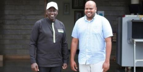 dp ruto congratulates Feisal Bader on msambweni by-election win