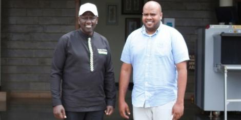 dp ruto congratulates Feisal Bader on msambweni by-election win