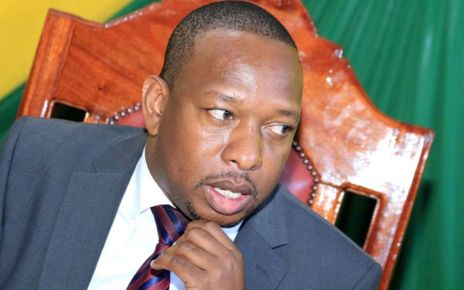 Mike Sonko in trouble for calling president Uhuru mlevi