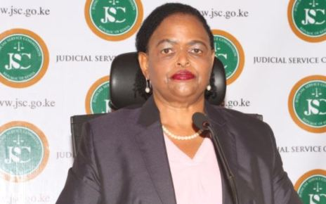 Martha Koome, the first female Chief Justice