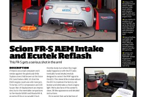 Modified – Scion ECUTek Reflash