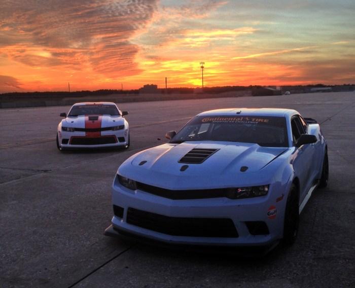 Sunset photoshoot at Sebring
