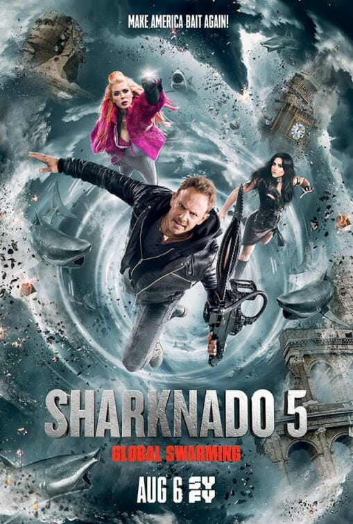 [Critique] SHARKNADO 5 : GLOBAL SWARMING