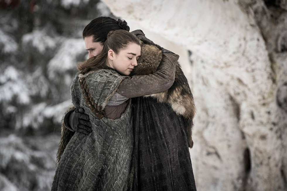 Game-of-thrones-s8-Maisie-Williams-Kit-Harington