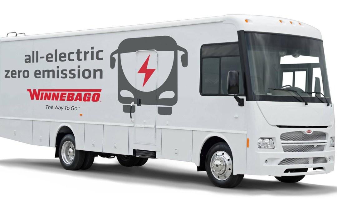 Winnebago apuesta por las autocaravanas eléctricas