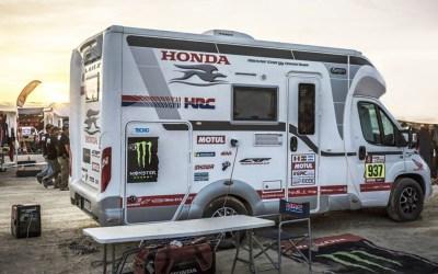 Las autocaravanas del Dakar 2020 y sus pilotos