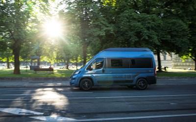 Hymer Free Blue Evolution, el camper compacto alemán