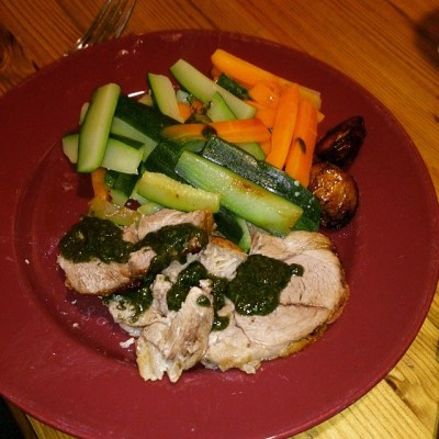 #takingcare100 day 12. Sunday lunch as cooked by DH. Lamb from Westmoorland Farm shop was gorgeous.
