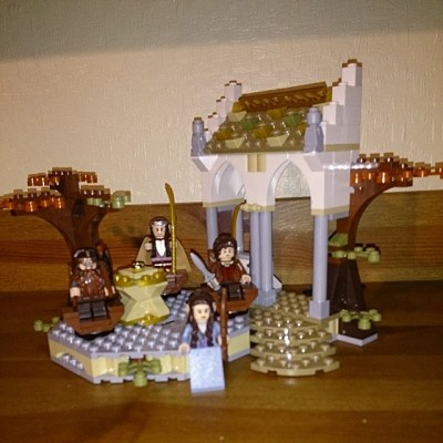 #takingcare100 day 17. Birthday present - forgot how much I loved putting lego together. Now want to get more...
