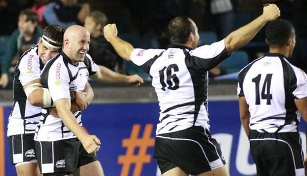 Ritka dolog, ha a Zebre játékosai örülnek - forrás: www.onrugby.it