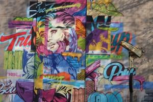 Graffiti in Braamies