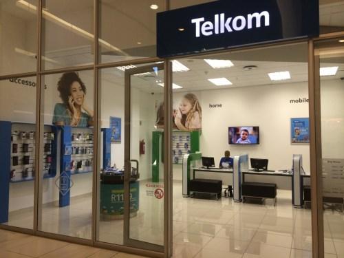 Telkom store in Sandton City