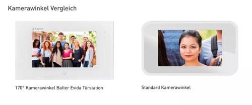 Balter Videotürsprechanlage Kameravergleichl