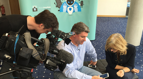 Mobile-Force-Field-MD-Matt-Archer-is-interviewed-by-BBC-North-West