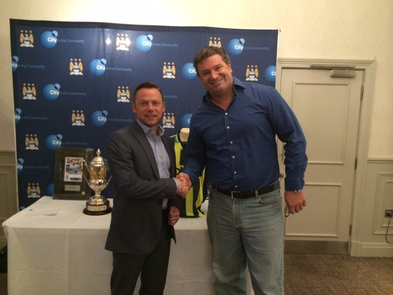ICP Networks meets City legend Paul Dickov