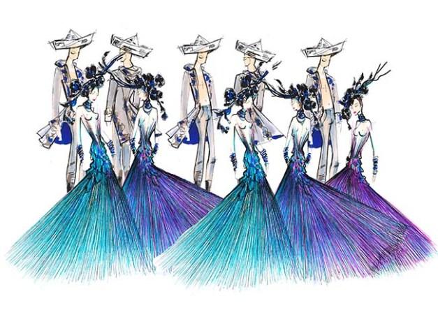 Costume Lido - Dragone (4)