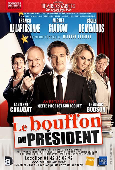 LE BOUFFON... affiche validée BAT logos