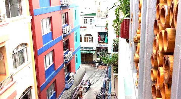 autre vue du balcon