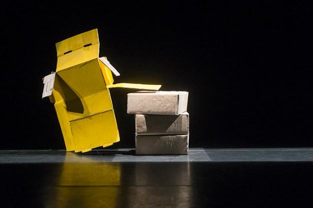 Pierre-Antoine Grisoni / Strates Mummenschanz, Théâtre du Passage, Neuchatel, le 21 septembre 2014.