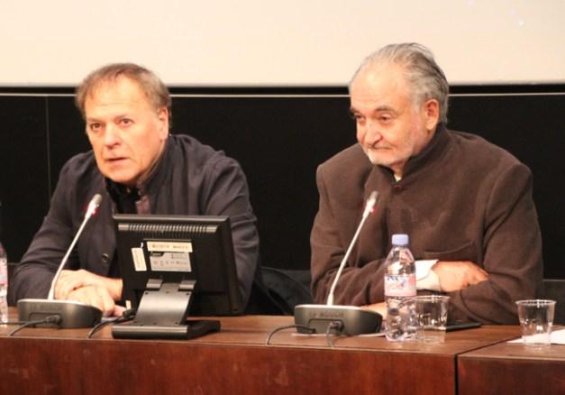 Enki Bilal et Jaccues Attali