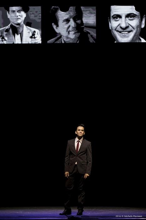 Jersey Boys il Musical Teatro Nuovo di Milano Regia di Claudio Insegno con: Alessandro Mastromarino, Marco Stabile, Claudio Zanelli, Flavio Gismondi, Alice Mistroni, Felice Casciano, Brian Boccuni, Giada D'Auria, Massimo Francese, Pasquale Girone, Roberto Lai, Gloria Miele, Elena Nieri, Giuseppe Orsillo, Giulio Pangi.