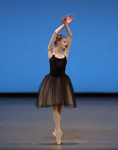 Sterling Hyltin in Mozartiana Choreography George Balanchine © The George Balanchine Trust New York City Ballet Credit Photo: Paul Kolnik studio@paulkolnik.com nyc 212-362-7778
