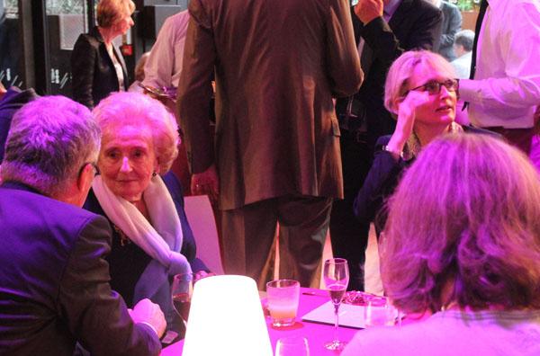 Mmmes Bernadette et Claude Chirac