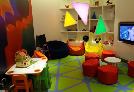 salle de jeux enfants @Etihad