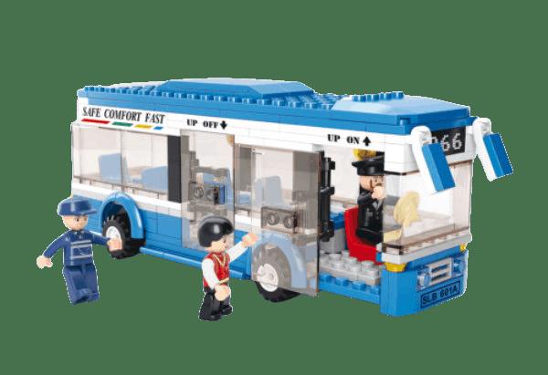 Jongensspeelgoed Sluban lijnbus