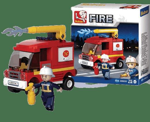 sluban kleine brandweer tankauto