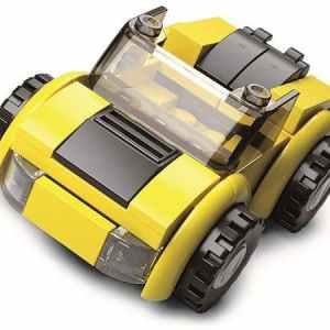 Sluban builder Voertuigen - Gele cabrio A