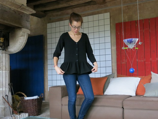 Ma petite blouse à basque - on sunday mornings
