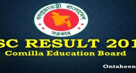 SSC Result Comilla Board