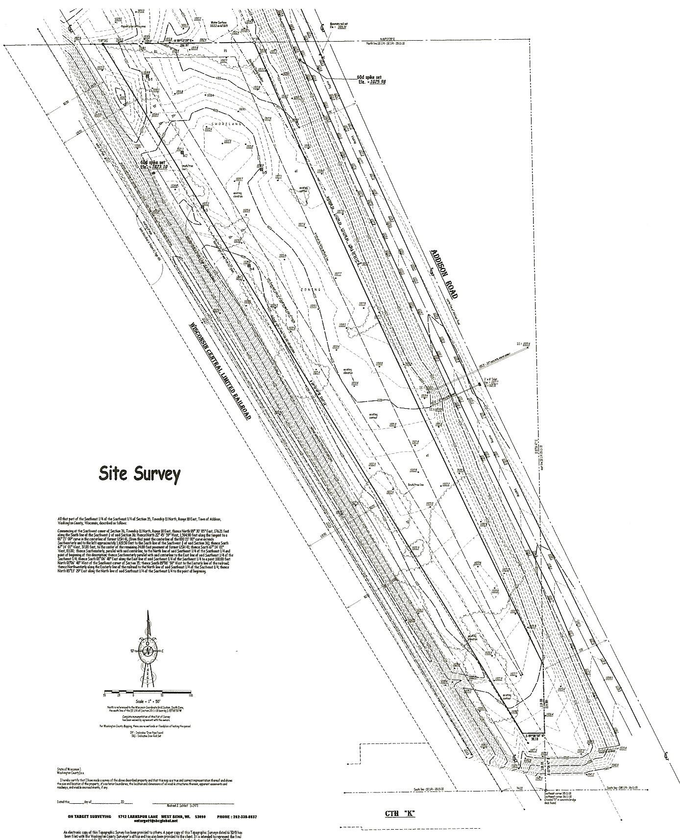 On Target Surveying Land Surveying Washington County Wisconsin