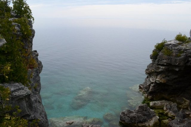 View from the top of Grotto