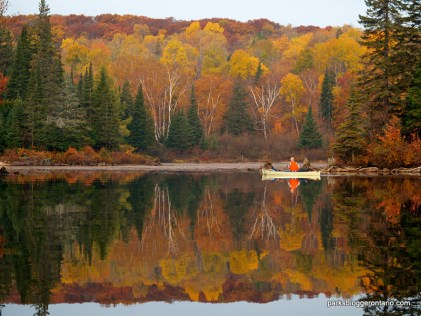 Little Doe Lake in Algonquin