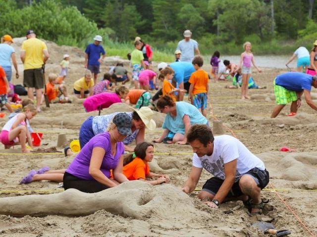 Sandfest at Sandbanks Provincial Park