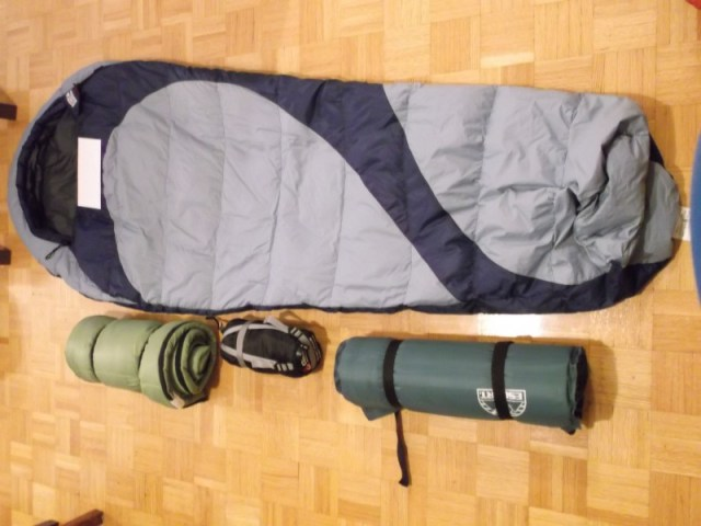 Sleeping bags and pad_Winter Gear Guide