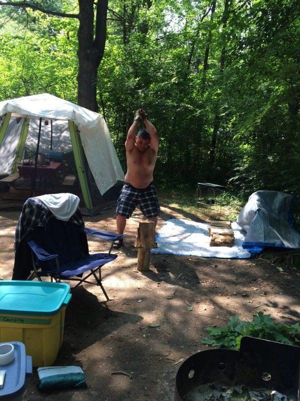 Fitzroy Provincial Park Camping