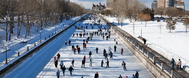 Rideau Canal Skateway Winterlude Ottawa